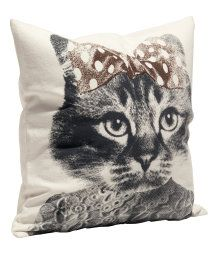 Cat Pillow - perfect for abby Crazy Cat Lady, Crazy Cats, Creepy Home Decor, Bed Pillows, Cushions, Cat Cushion, Cat Pillow, H&m Home, Perfect Pillow