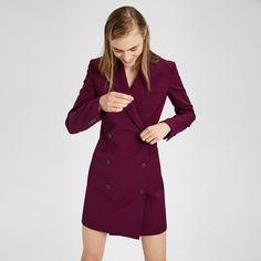 Good Wool Blazer Dress