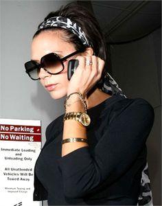 Victoria Beckham Printed silk scarf #Scarfstyle #Pattern