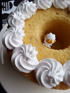 бадемова шифонова торта