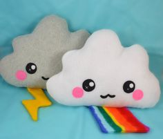 Cloud plush toy / novelty soft pillow / kawaii cushion by Plusheez