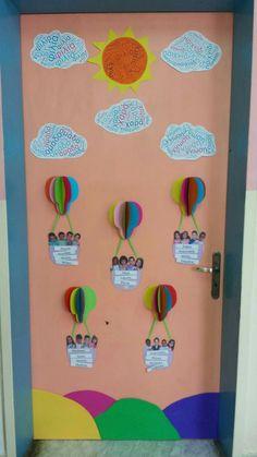 # classroom # classroom door classroom door decoration - New Deko Sites Classroom Birthday, School Classroom, Classroom Displays, Classroom Themes, Classroom Door Decorations, Diy And Crafts, Crafts For Kids, Arts And Crafts, Art Bulletin Boards