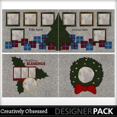 58% OFF! - Ugly Christmas Sweater 2 - 8 page album - $2.49 (Normally $5.99) Sale ends Jan 31! 11x8.5 digital scrapbook album