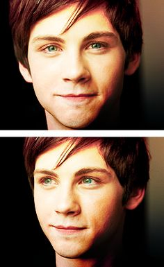 Logan Lerman ♥ It's funny how I wanted him to come up, and he's the first one I saw. :)