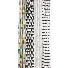 Shower Curtains w/ Graphic Design