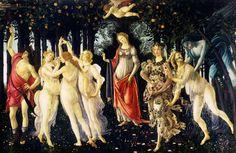"""Sandro Botticelli """"Primavera"""""""