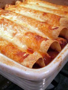 Chicken Enchiladas - no cream of anything soup