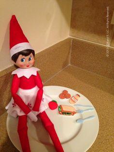 Elf on the Shelf ~ Midnight Snack
