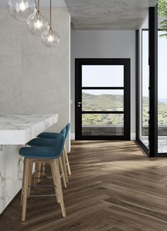 Another take on the popular timber decorative range is Luthier. 2 Decors (wall only) in 600x600mm, 2 planks in 200x1200mm, R10 finish and the Line Mix 3D decor in 300x1200mm. This range can accommodate design throughout your entire living space! Great for residential and commercial spaces in living rooms, bedrooms, bathrooms, foyers and kitchen. Timber Tiles, Living Rooms, Living Spaces, Tile Warehouse, Tile Suppliers, Outdoor Tiles, Stone Mosaic, Foyers, Planks
