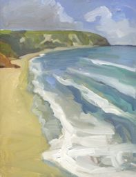 Ben Spurling - Evening at Swanage Beach