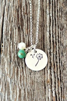 Make a wish. Hope for the best. This necklace is .925 Sterling silver and…