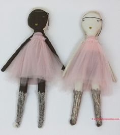 Jess Brown Rag Dolls Are Here! | $234 at www.perfectlysmitten.com
