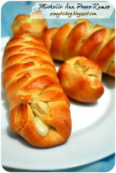 Pinoy Tsibog: Bread Stuffed with Cheese