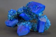 """CHALCANTHITE - said to help further desires through communication abilities. It is also said to help one stay in the now and enjoy life, as well as get rid of feelings of abandonment. Chalcanthite is reputed to eliminate delays of things in progress. It is also used metaphysically for insight, clairvoyance, and psychic attunement. It is said to enhance one's ability to """"read"""" people and situation."""