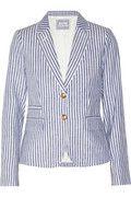 J.Crew Striped linen blazer NET-A-PORTER.COM