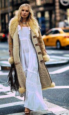 40 Bonito Boho Looks Para Inspirarte 70s Fashion, Autumn Fashion, Fashion Outfits, Cheap Fashion, Modern Fashion, Fashion Women, Bohemian Mode, Boho Chic, Boho Hippie