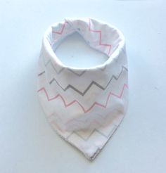 A personal favorite from my Etsy shop https://www.etsy.com/listing/254113217/pink-gray-chevron-baby-girl-burpee