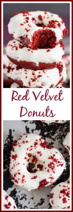 Baked Red Velvet Donut Recipe