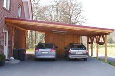 Wooden Carport