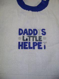 Baby Bib- Daddys Little Helper