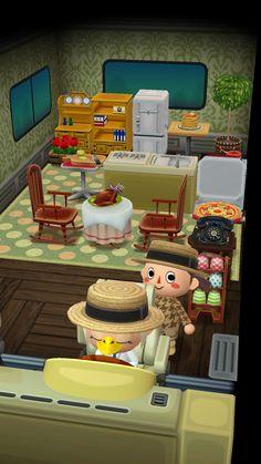 Inside camper Animal Crossing: Pocket Camp