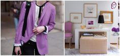 Radiant Orchid: fashion x decor #decor #fashion #pantone #radiant #orchid #casadasamigas