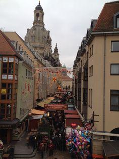 Frauenkirche xmas market Advent 2014