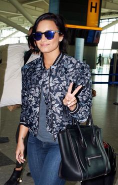 Demi Lovato in the airport in London, United Kingdom - September 10th