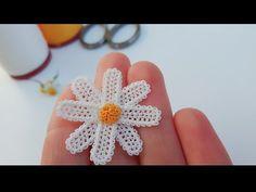 Crochet Earrings, Floral, Flowers, Jewelry, Youtube, Lace, Crocheting, Dots, Pattern