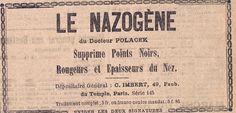 Le Nazogène du Docteur Polacek, Gazette du Centre, 1908 - Bfm Limoges