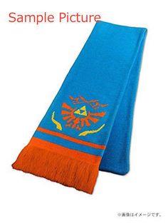 Zelda Muso Hyrule Warriors Blue Scarf of Courage JAPAN KOEI NINTENDO COSPLAY