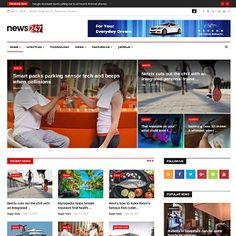 is a Joomla News and Magazine template with tons of features options. It is a great solution for a News, Magazine, Small Company, and Business . Small Company, Magazine Template, K2, New Shows, Business News, Extensions, Software, Templates