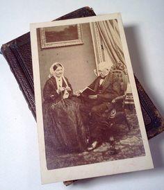 Antique photographs Carte de Visite  Cabinet by WeeLambieVintage, $25.00