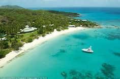 Set upon 2,500 pristine acres of coastline, Lizard Island offers the natural beauty of the Great Barrier Reef in Australia