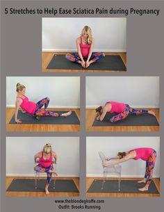 Prenatal Sciatica Stretching Guide – The Blonde Giraffe