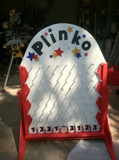 Plinko board takes up very little space stuff i want to trydo carnival game i like the size of this solutioingenieria Choice Image