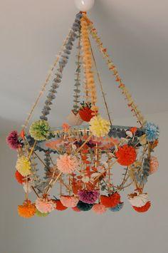 pajaki - polish paper chandelier