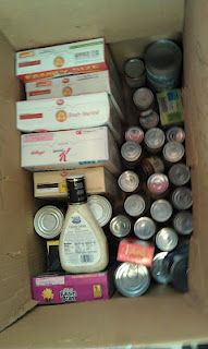 Examples of nonperishable food items