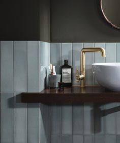 Tile trends 2020 – from Art Deco flair to new heritage, dark drama, and Italian terrazzo these are the surfaces you need to see Art Deco Tiles, Art Deco Bathroom, Bathroom Trends, Modern Bathroom, Small Bathroom, Bathrooms, Bathroom Design Inspiration, Bad Inspiration, Bathroom Interior Design