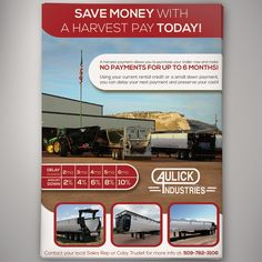Design a call to action financing flyer for Wyatt Leasing by Ludwig M