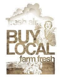 Buy Local! - Local Healthy Sustainability by I support Farmers Markets