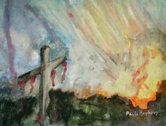 the risen christ | The Risen Christ Painting by Paula Maybery - The Risen Christ Fine Art ...