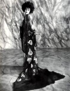 French Sampler: Alla Nazimova in a Natacha Rambova design