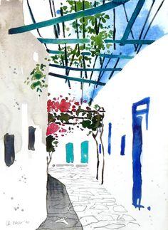 Gasse, Amorgos, 2010