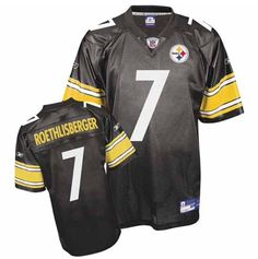 25ccc2c6a Pittsburgh Steelers Ben Roethlisberger  7 Reebok Youth Boy s XL Replica  Jersey  Reebok  PittsburghSteelers