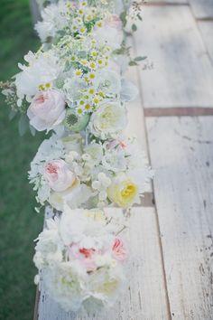 Pretty pastel bouquets