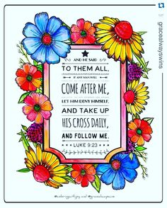 Another beautiful page from our Color The Bible series colored by @gracealwayswins #inspiredtograce #colorthebible #colorthepsalms #colortheproverbs #colorthegospel #colorgenesis #prayerjournal #christian #christianlife #christianwoman #christianity #bible #biblejournaling #biblestudy #jesus #jesuschrist #jesussaves #jesusfreak #jesuslovesyou #faith #faithful #faithingod #faithhopelove #prayer #prayers #prayerworks #coloring #coloringbook by inspiredtograce