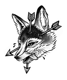 THE FOX / Hunt Your Fears by Aaron M.  Leyva, via Behance