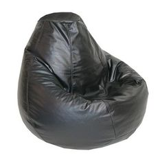 Elite Products Lifestyle Bean Bag Lounger & Reviews | Wayfair Huge Bean Bag Chair, Bean Bag Lounge Chair, Bean Bag Lounger, Black Bean Bags, Gaming Lounge, Saddle Chair, Cool Bean Bags, Kids Bookcase, Furniture Deals