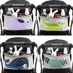 >> Click to Buy << Baby stroller special mummy pack cartoon animal bag carts hanging bag storage bag carts hanging package cart accessories #Affiliate